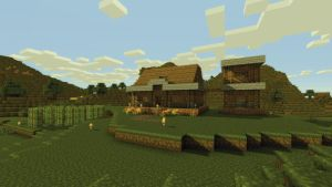 Minecraft -larger- town house by burntcustard