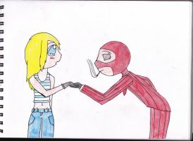Request: Spy in love by stephaniescarlet