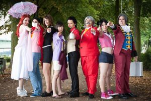 Ace Attorney Group by MaslowskiPhotograph