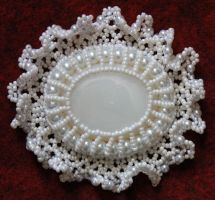 Wedding Brooch by Thy-Darkest-Hour