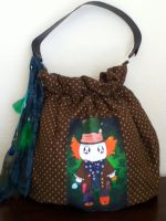 Kawaii Mad Hatter purse by PandoraLuv