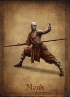 Monk concept by AlanVadell