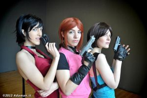 Resident Evil girls by Marivel87