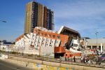A building in Chile, sideways by djcabrera