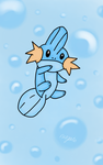 Pokemon Drawing Challenge MUDKIP by Megalomaniacaly