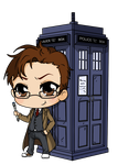 10th Doctor Who by Mibu-no-ookami