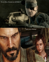 Snake Vs Joel by TheDemonsReflection