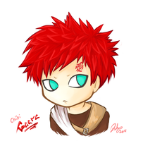Chibi Gaara by firehorse6