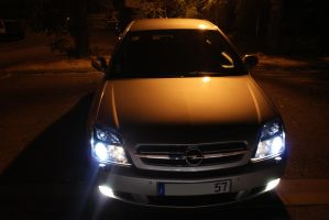 Opel vectra by night 2 by Toun57