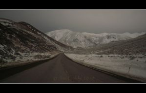 Cold Road Ahead by JonGoldie