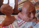 Sculpting A Head by Yubisaki
