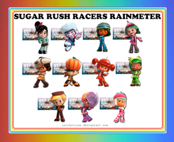 Sugar Rush Racers Clock by Jailboticus