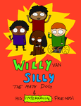 Willy van Silly the Math Dog by leonwingstein