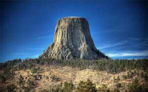 Devil's Tower HDR 1 by jbkalla