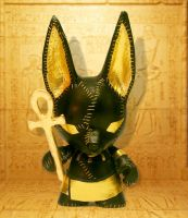 Anubis Mini Munny by mesmithy