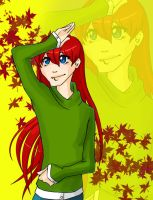 OC - Akichi - Autumn by KarniMolly