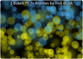 Photoshop Brush - Bokeh by Tivil