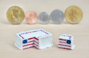 fake 4th of July cake by FatalPotato