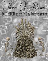 Throne Of Bones 3 by Trisste-stocks