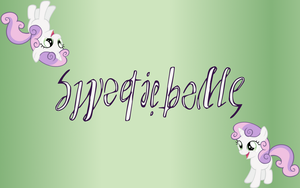 Sweetie Belle Ambigram by Henry-Crun
