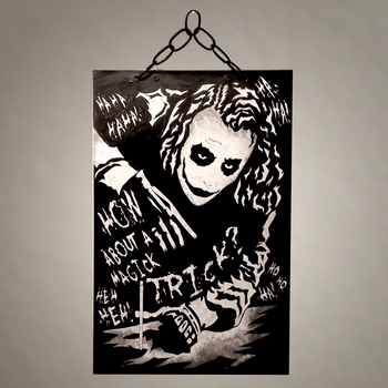 How about a Magic Trick? Joker India Ink by MarkItZeroNET