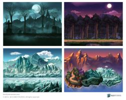 Assorted Backgrounds by bonify
