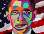 Obama by MichaelGruselin
