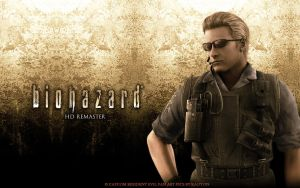 Re Albert Wesker Wallpaper by kaoyon