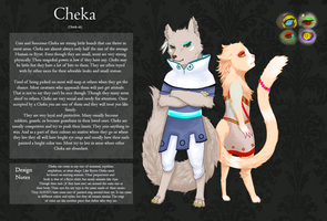 Cheka Race Sheet by Doctor-Yasume