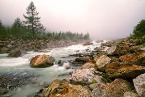 Flowing in the mist by jViks