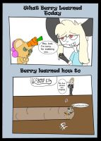 Berry learns from Lucas by Sarconis-the-Artist