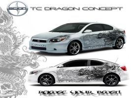 scion tc dragon concept by MD-AVENT