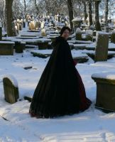 among the graves by Abigial709b