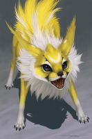 Eeveelutions - Jolteon by Evelar