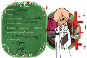 Hospital of Ooo Dr. Jakiel app by GingerQuin
