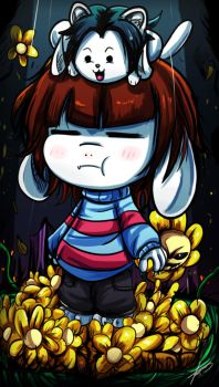 Undertale - The Fallen Goat Child by ichimoral