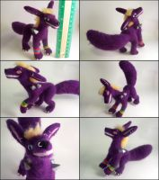 Needle felted posable Nuha by SnowFox102