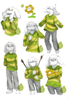 ASRIEL - FULL by RozenTrue