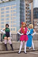 Adult Powerpuff Girls Cosplay by Nostalchicks by MEW21