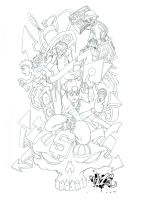 PROJECT 1 pencils by CaziTena