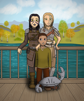 Family Portrait by tequilasunburn