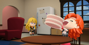 RWBY Chibi Episode 8 Nora's Inflation by BittyHeart