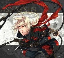 drawing : Dragon Nest - Assassin by kugelcruor