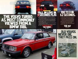 Volvo mag ads rock 240 242 by Partywave