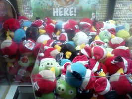 Christmas Angry Birds by BigMac1212