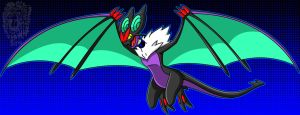 Echo-Echo, my Noivern by TheDocRoach