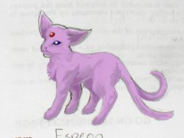 Espeon by beverly546