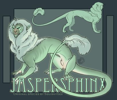The Jaspersphinx by SquishyGex