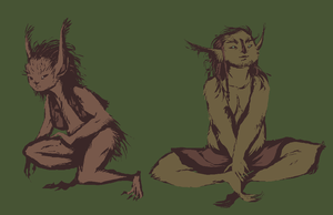 faerie women by SulphurSpoon