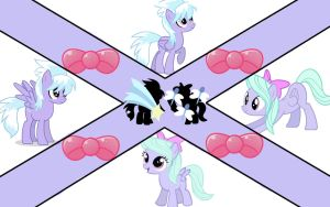 Cloudchaser and Flitter (wallpaper number 10) by axelrules1231